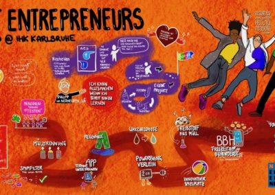 Next Entrepreneurs, pupil founders
